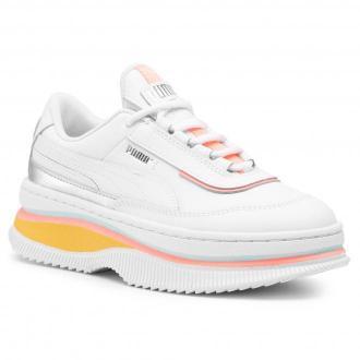 Sneakersy PUMA - Deva Mono Pop Wn's 373919 03  Puma White/Super Lemon