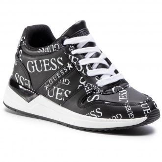 Sneakersy GUESS - Ravyn FL7RAN PEL12 BLKWH