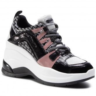 Sneakersy LIU JO - Karlie Revolution 26 BF0095 EX064 White/Black S1005