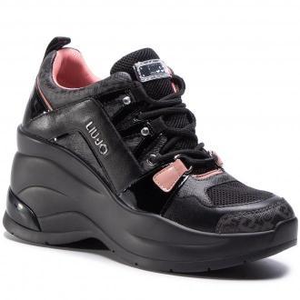Sneakersy LIU JO - Karlie Revolution 26 BF0095 EX065 Nero 22222