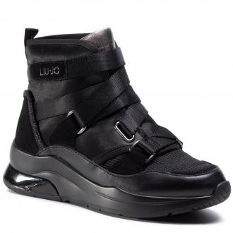 Sneakersy LIU JO - Karlie 24 BF0101 TX057 Black 22222