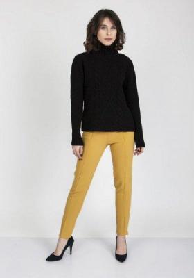 MKMSwetry Estelle SWE 121 Czarny sweter damski