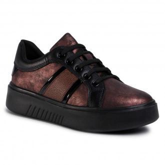 Sneakersy GEOX - D Nhenbus A D048DA 0PVBU C8353  Wine/Black