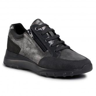 Sneakersy GEOX - D Alleniee A D04LPA 0PV22 C1G9A Gun/Anthracite