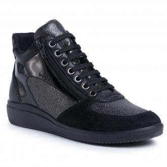 Sneakersy GEOX - D Tahina B D04BDB 0PV22 C9999 Black