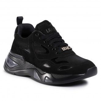 Sneakersy LIU JO - Hoa 01 BF0017 PX096 Black 22222