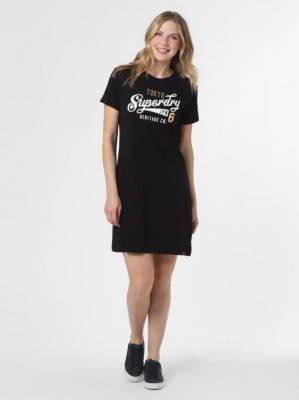 Superdry - Sukienka damska, czarny