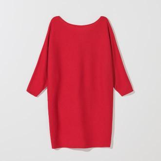 Mohito - Dzianinowa tunika z wiskozą - Czerwony