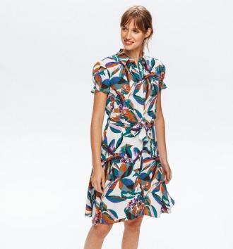 Sukienka - włoski wzór
