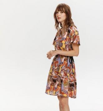 Sukienka we wzory Monica Peres