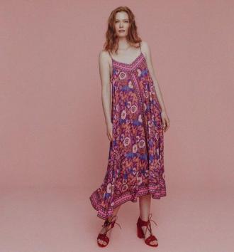 Sukienka we włoski print