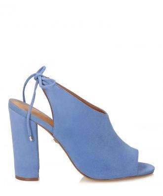 Niebieskie sandały damskie