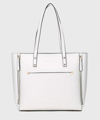 Biała torebka damska