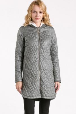 Cienki pikowany płaszcz