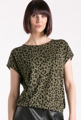 T-shirt w zwierzęcy wzór