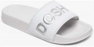 japonki DC - Dc Slide Se White/Silver (WS4) rozmiar: 38