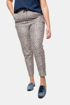 Duże rozmiary Spodnie dresowe, damska, biały, rozmiar: 48, poliester/baweÅna, Studio Untold