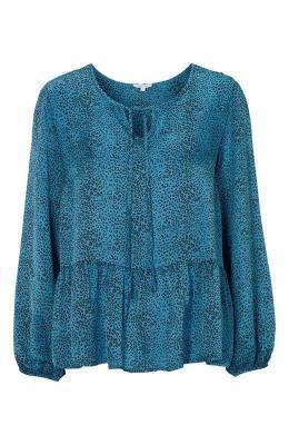 Truly mine Bluzka Odette  niebieski w c?tki