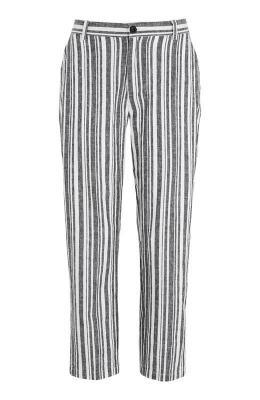 Cellbes Pasiaste spodnie lniane w paski