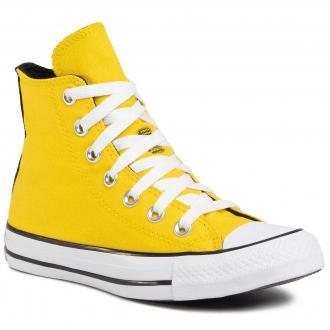 Trampki CONVERSE - Ctas Hi 568495C Speed Yellow/White/Black
