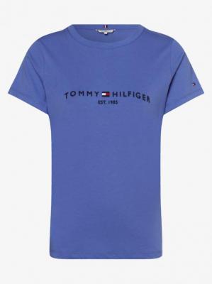 Tommy Hilfiger - T-shirt damski, niebieski