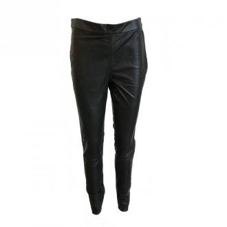 Onstage Leather leggings Spodnie Czarny Dorośli Kobiety Rozmiar: 40