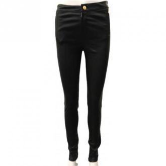 Onstage Leather trousers Spodnie Czarny Dorośli Kobiety Rozmiar: 38