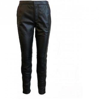 Onstage Leather trousers Spodnie Czarny Dorośli Kobiety Rozmiar: 42