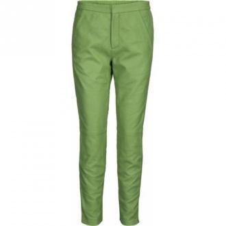 Onstage Leather trousers Spodnie Zielony Dorośli Kobiety Rozmiar: 40