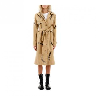 Moschino płaszcz Płaszcze Beżowy Dorośli Kobiety Rozmiar: 40 IT