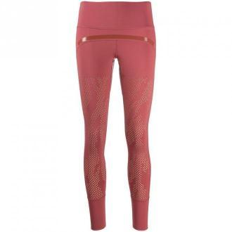 Adidas by Stella McCartney Leggings Spodnie Czerwony Dorośli Kobiety