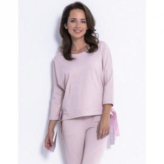 Fobya Bluza kangurka F873 Swetry i bluzy Różowy Dorośli Kobiety