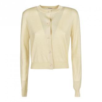 Miu Miu Sweater Swetry i bluzy Żółty Dorośli Kobiety Rozmiar: 42 IT
