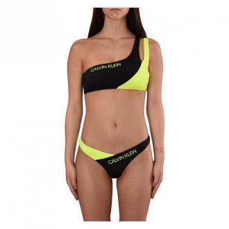 Calvin Klein Bikini Moda plażowa Czarny Dorośli Kobiety Rozmiar: XL