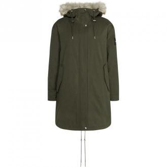 Calvin Klein Park Jacket Kurtki Zielony Dorośli Kobiety Rozmiar: S