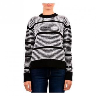 Calvin Klein Sweater Swetry i bluzy Szary Dorośli Kobiety Rozmiar: S