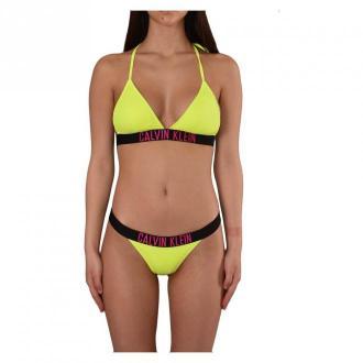Calvin Klein Bikini Moda plażowa Żółty Dorośli Kobiety Rozmiar: XL