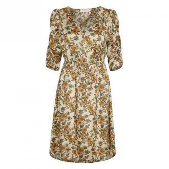 Cream EmmelieCR Krótka Sukienka Sukienki Pomarańczowy Dorośli Kobiety