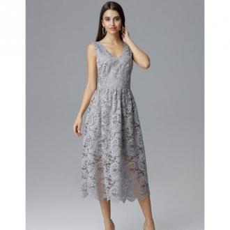 Sukienka koronkowa midi M639