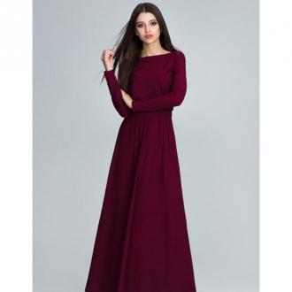 Sukienka z długim rękawem m604