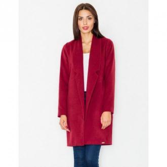 Figl Płaszcz klasyczny M531 Płaszcze Czerwony Dorośli Kobiety Rozmiar: