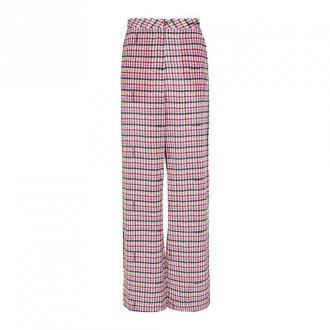 Karl Lagerfeld Broszura Boucle Spodnie Spodnie Czerwony Dorośli