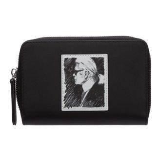 Karl Lagerfeld wallet credit card bifold capsule legend Akcesoria