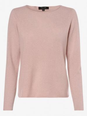 SvB Exquisit - Sweter damski z czystego kaszmiru, różowy