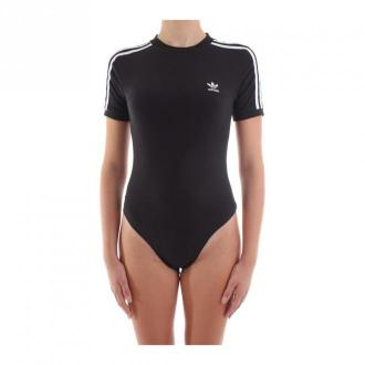 Adidas Adidas Body Women Black Moda plażowa Czarny Dorośli Kobiety