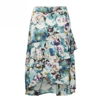 Denim Hunter Bloom Skirt 10702867 Spódnice Niebieski Dorośli Kobiety