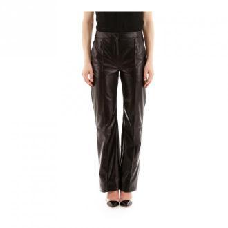 Drome Leather trousers Spodnie Czarny Dorośli Kobiety Rozmiar: XS