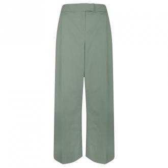 """Twinset Spodnie """"Culottes"""" Spodnie Zielony Dorośli Kobiety Rozmiar: 44"""