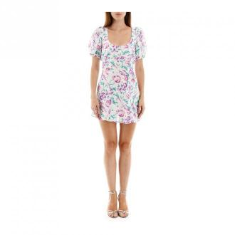 Rixo London Morgan mini dress Sukienki Różowy Dorośli Kobiety Rozmiar: