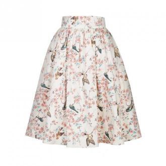 Kasia Miciak design Spódnica rozkloszowana Amore Spódnice Różowy